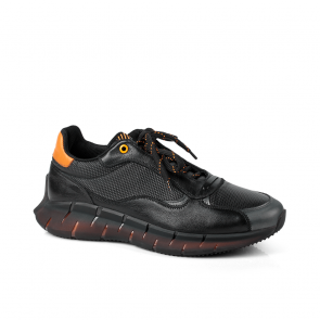 Мъжки обувки от естествена кожа PRG-12485