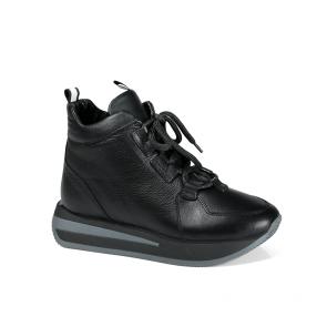 Дамски спортни обувки от естествена кожа PRG-3080