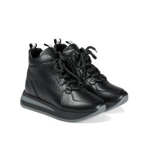 Дамски спортни обувки от естествена кожа PRG-3080 - 2