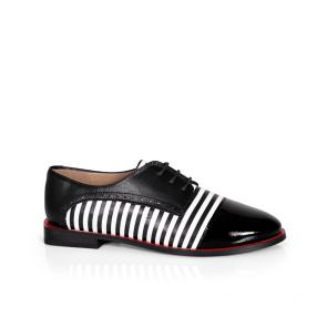 Дамски обувки от естествена кожа PRG-4133
