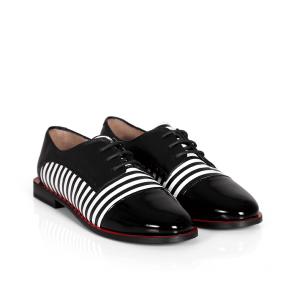 Дамски обувки от естествена кожа PRG-4133 - 2