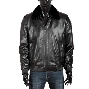 Мъжко яке от естествена кожа RG-166