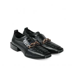 Дамски обувки от естествена кожа SD-1004 - 2