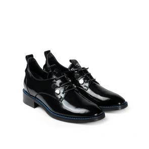Дамски обувки от естествен начупен лак SD-5000 - 2