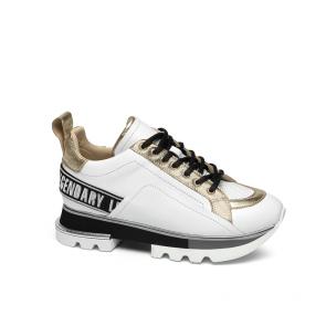 Дамски спортни обувки от естествена кожа SD-5035