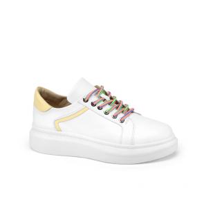 Дамски спортни обувки от естествена кожа SD-5079/1