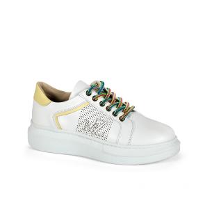 Дамски спортни обувки от естествена кожа SD-5079