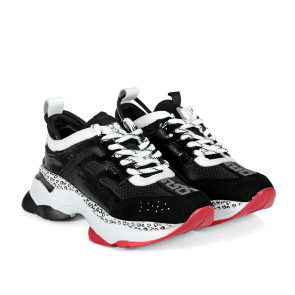 Дамски спортни обувки от естествена кожа и лак SD-5097 - 2