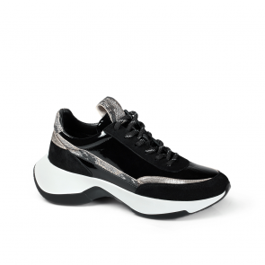 Дамски спортни обувки от начупен лак SD-7020