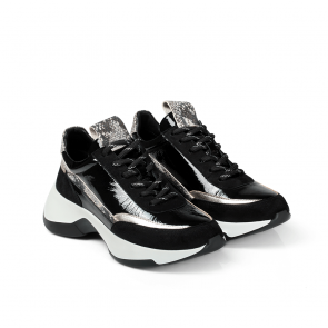 Дамски спортни обувки от начупен лак SD-7020  - 2