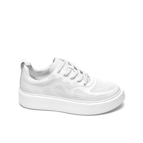 Дамски спортни обувки от естествена кожа SD-714