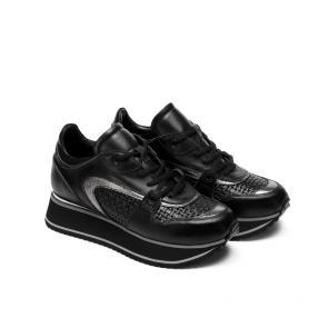 Дамски спортни обувки от естествена кожа SD-7634 - 2