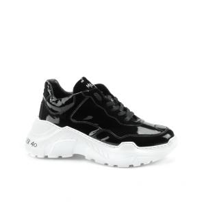 Дамски спортни обувки от естествен лак SD-9191