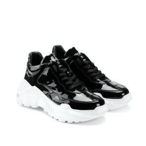 Дамски спортни обувки от естествен лак SD-9191 - 2