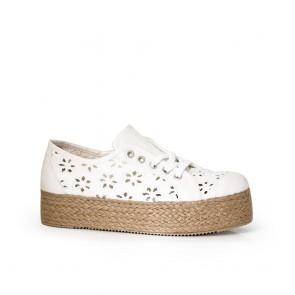 Дамски обувки дантела