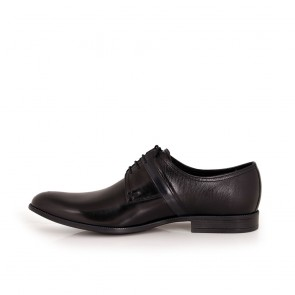 Мъжки официални обувки естествена кожа - 2