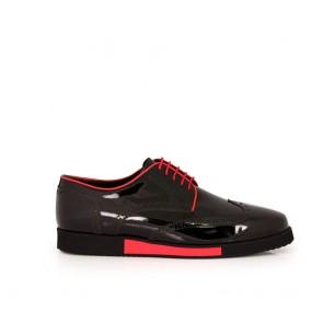Мъжки ежедневни обувки от естествен лак