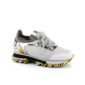 Дамски спортни обувки от естествена кожа SPT-279-2131