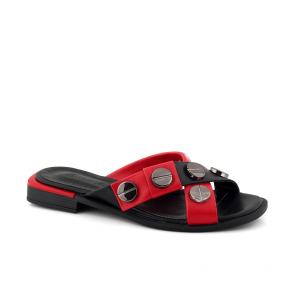 Дамски чехли от естествена кожа SPT-364-99
