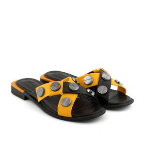Дамски чехли от естествена кожа SPT-364-99 - 2