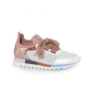 Дамски спортни обувки от естествена кожа SPT-5517