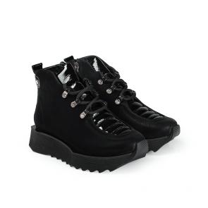Дамски спортни обувки от естествен набук SPT-671-2021 - 2