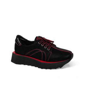 Дамски спортни обувки от естествен набук SPT-671-993