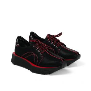 Дамски спортни обувки от естествен набук SPT-671-993 - 2