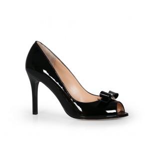 Дамски обувки от естествен лак SY-23446