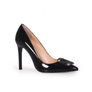 Дамски обувки от естествен лак SY-23959