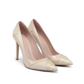 Дамски обувки от естествена кожа и лак SY-25598 - 2
