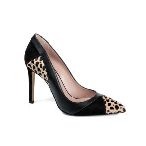 Дамски обувки от естествена кожа и велур SY-25598