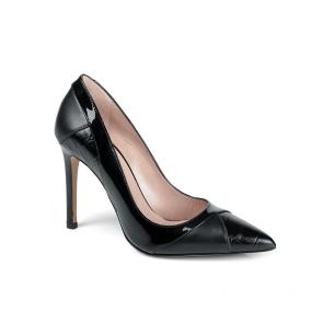 Дамски обувки от естествена кожа и лак SY-25598