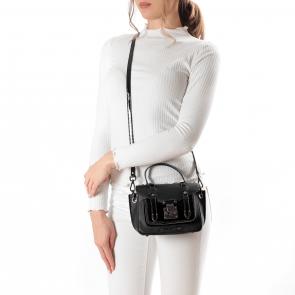 Дамска чанта от еко кожа и лак YZ-2010067 - 2