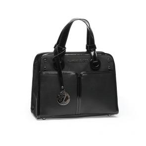 Дамска чант от еко кожа и лак