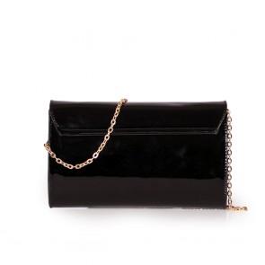 Дамска чанта от еко лак  - 2