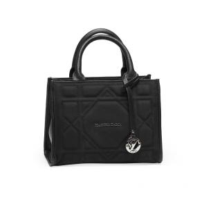 Дамска чанта от еко кожа и велур