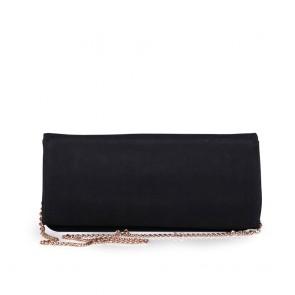 Дамска чанта от еко велур - 2