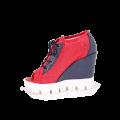 Дамски летни обувки от естествена кожа  - 2t