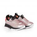 Дамски спортни обувки от естествена кожа и стреч ILV-2052/1 - 2t