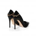 Дамски обувки от естествен лак CP-2559/1 - 2t