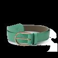 Дамски колан от еко лак в зелен цвят LD-772 - 1t