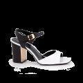 Дамски сандали естествен лак  - 1t