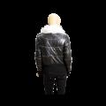 Дамско кожено яке от естествена кожа в черен цвят MF-5968 - 2t