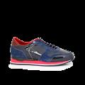 Мъжки спортни обувки син лак MRS-11475 - 1t