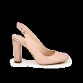 Дамски обувки от естествен лак  - 1t