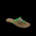 дамски чехли естествена кожа - 1t