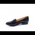 Дамски обувки естествена синя кожа - 2t