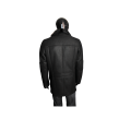 Мъжко яке от естествена кожа  K-502 Черен - 2t