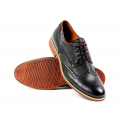 Мъжки ежедневни обувки от естествена кожа  - 3t